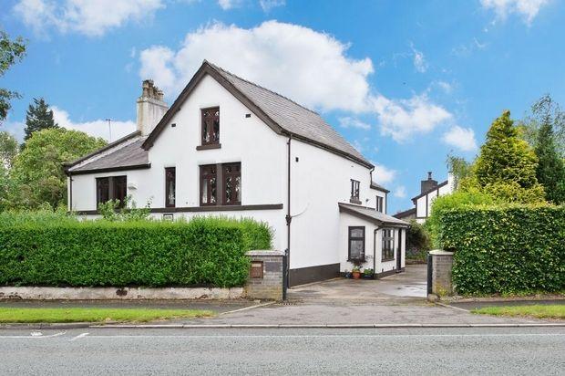 Thumbnail Detached house for sale in Warrington Road, Glazebury, Warrington, Cheshire