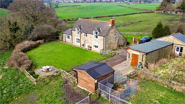 Thumbnail Cottage for sale in The Cottage, Marshall Lands Farm, Whickham