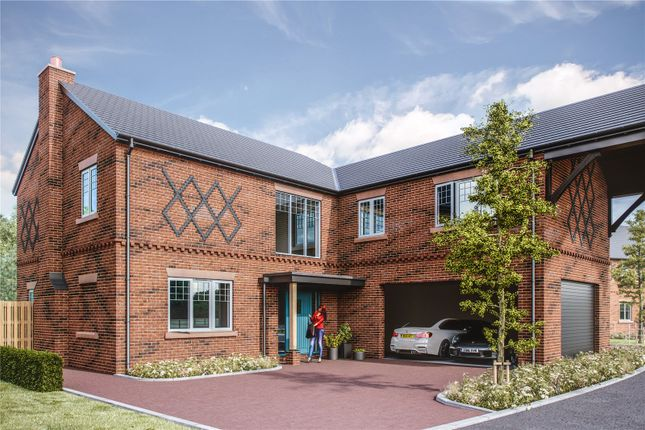 Thumbnail Detached house for sale in Belgrave Garden Mews, Wrexham Road, Pulford, Chester