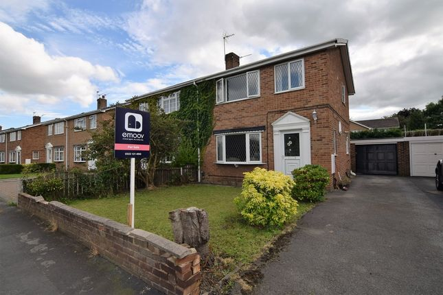 Thumbnail Semi-detached house for sale in Fairway, Normanton