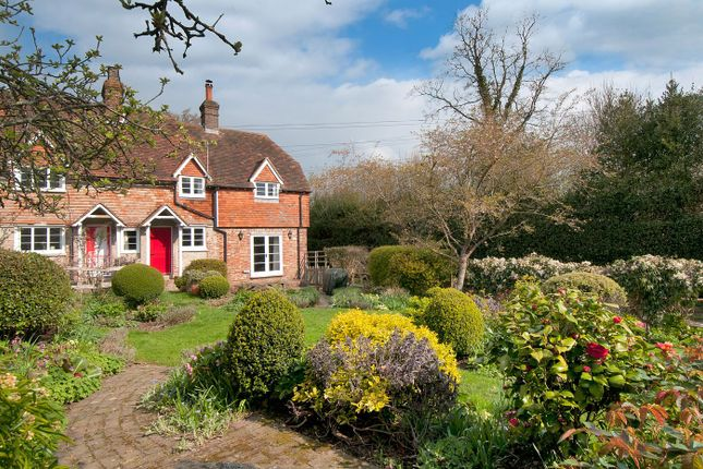 Thumbnail End terrace house for sale in With 10 Acres And Stables, Rural Bells Yew Green, Tunbridge Wells