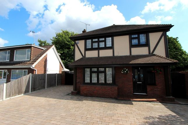 Thumbnail Detached house for sale in Greensward Lane, Hockley