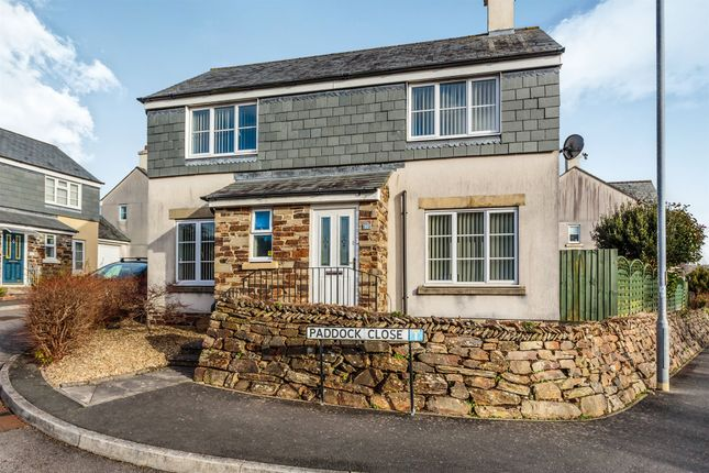 Thumbnail Detached house for sale in Paddock Close, Pillmere, Saltash