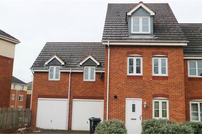 Thumbnail Semi-detached house for sale in King Street, Wednesbury, West Midlands