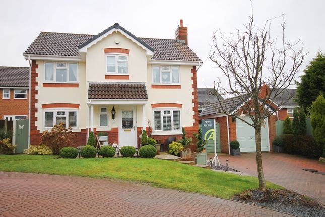 Thumbnail Detached house for sale in Mossdale Close, Whittle Hall, Warrington