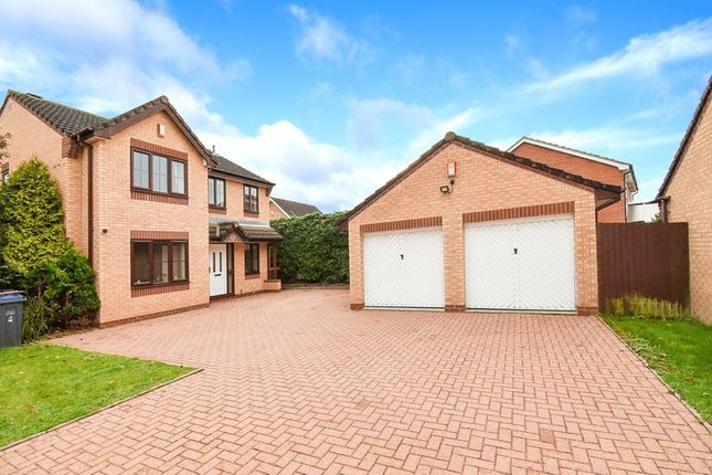 Thumbnail Detached house for sale in 5 Ruith Field, Shawbirch, Telford