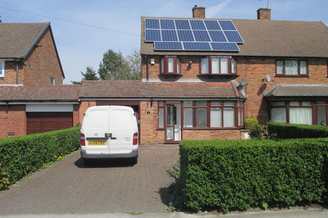 Thumbnail Semi-detached house to rent in Silver Birch Road, Birmingham