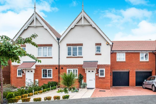 Thumbnail End terrace house for sale in Offord Grove, Leavesden, Watford
