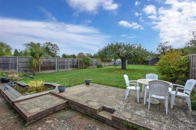 Rear Garden of Salts Avenue, Loose, Maidstone, Kent ME15