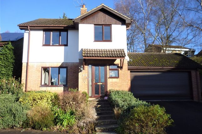 Thumbnail Detached house for sale in Henbury View Road, Corfe Mullen, Wimborne