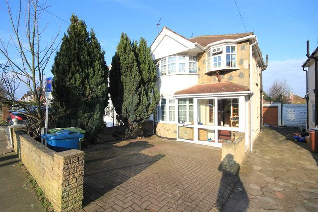 Thumbnail Semi-detached house to rent in Somervell Road, Harrow