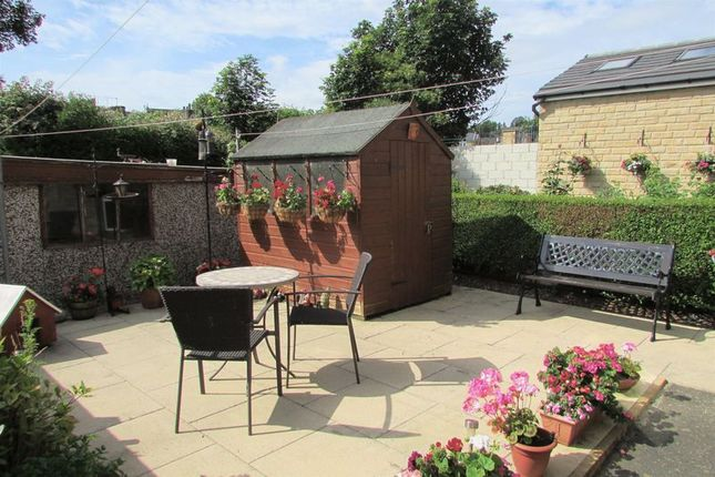 Back Garden of Lightcliffe Road, Crosland Moor, Huddersfield HD4