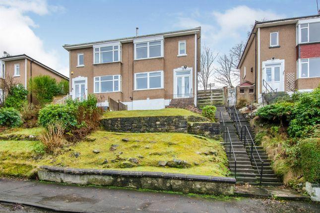 Semi-detached house for sale in Vardar Avenue, Clarkston, Glasgow