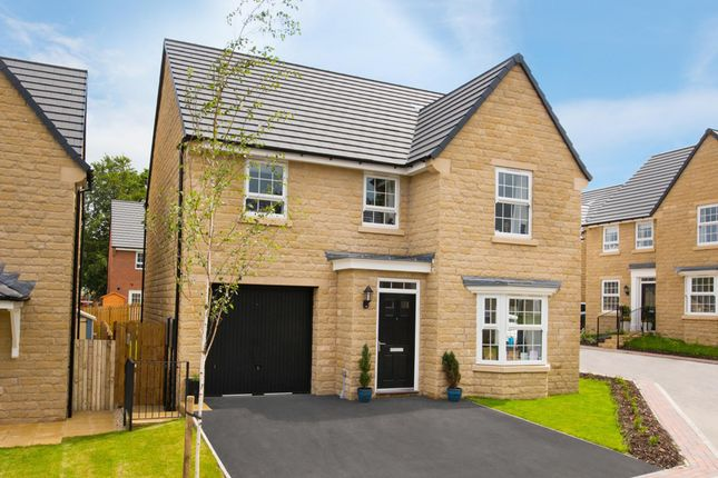 "Thumbnail Detached house for sale in ""Millford"" at Commercial Road, Skelmanthorpe, Huddersfield"