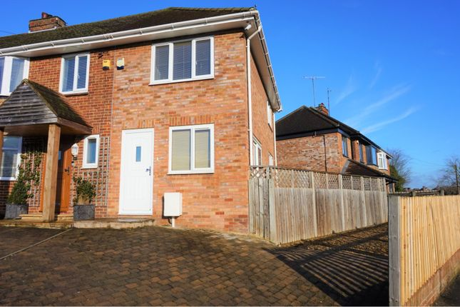 Thumbnail End terrace house for sale in Pinewood Drive, Bletchley