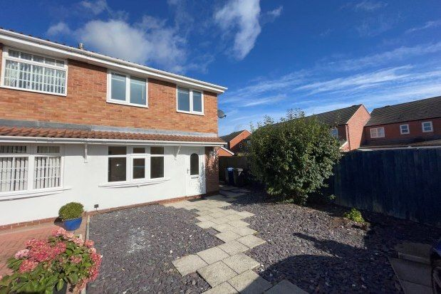 Thumbnail Property to rent in Dallow Crescent, Burton-On-Trent