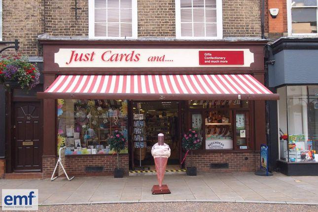 Thumbnail Retail premises for sale in Saint Ives, Cambridgeshire