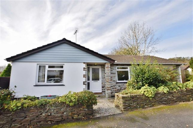 Thumbnail Detached bungalow for sale in Warrens Field, Camelford, Cornwall