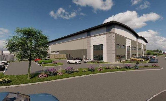 Thumbnail Light industrial to let in Cw 177, Plot 1 Castlewood Business Park, Castlewood Business Park, J28, Sutton In Ashfield