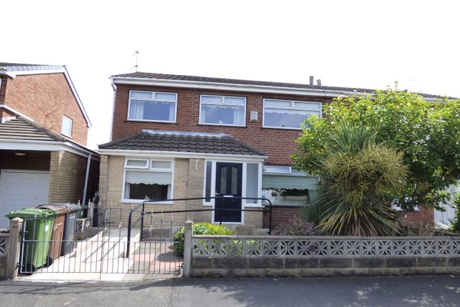 Thumbnail Semi-detached house for sale in Oakham Drive, Liverpool