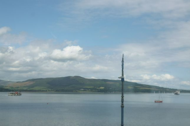 View From Lounge of Flat 2/1, 24 Argyle Street, Rothesay PA20