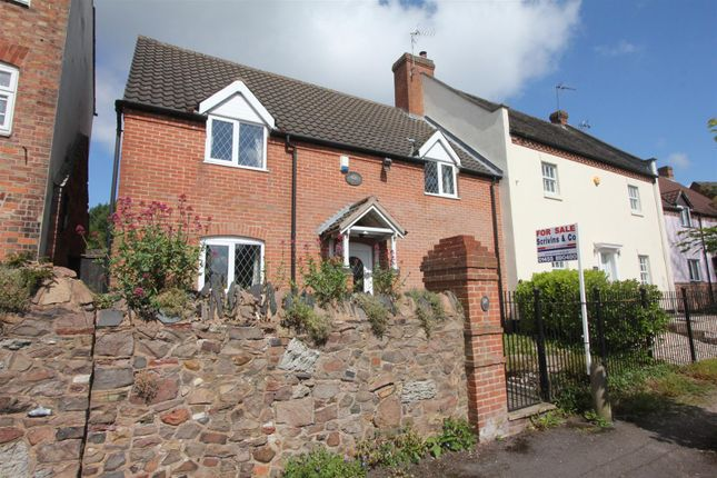 Thumbnail Detached house for sale in Horsepool, Burbage, Hinckley