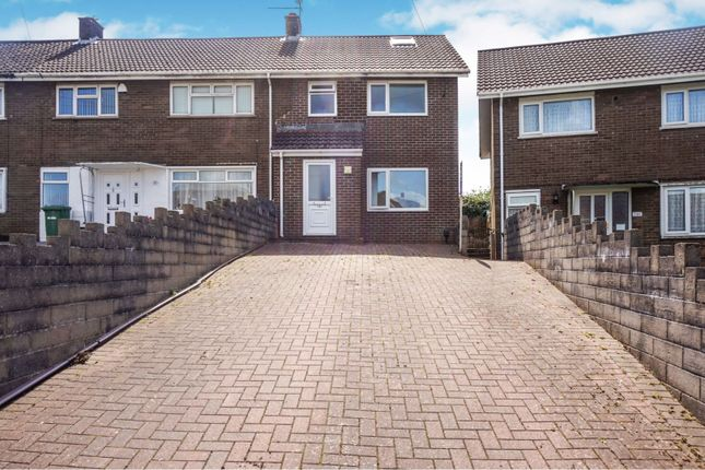 Thumbnail 3 bed semi-detached house for sale in Beech Road, Fairwater
