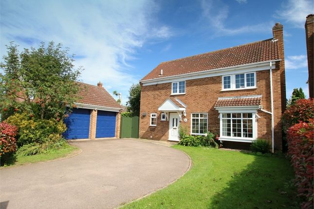 Thumbnail Detached house for sale in Silverweed, Eaton Ford, St. Neots