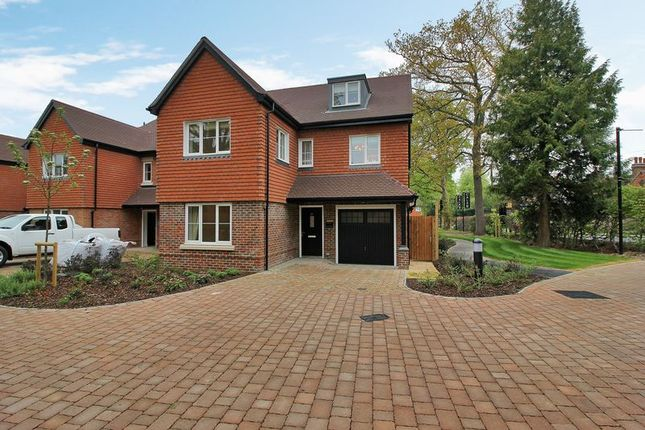 Thumbnail Detached house for sale in Turners Hill Road, Crawley Down, Crawley