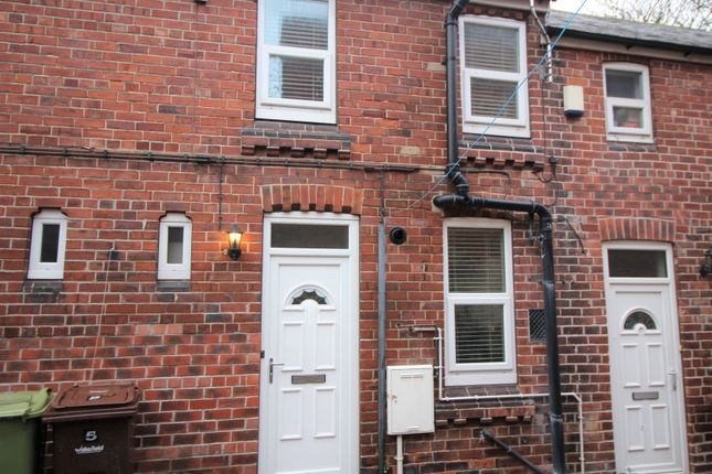 Thumbnail Terraced house to rent in Castle View, Pontefract
