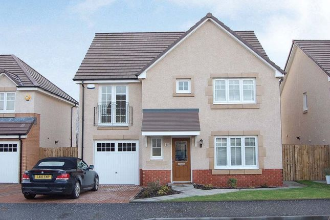 Thumbnail Detached house for sale in Orissa Drive, Dumbarton