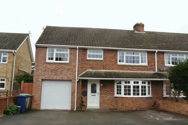Thumbnail Semi-detached house for sale in Stansby Crescent, Churchdown, Gloucester