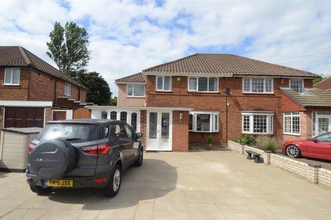 Thumbnail Semi-detached house for sale in Wyckham Road, Castle Bromwich, Birmingham