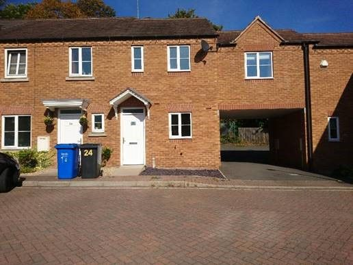 Thumbnail Town house to rent in Canal Mews, Chesterfield