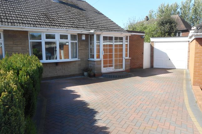Thumbnail Semi-detached bungalow for sale in Marklin Avenue, Oxley, Wolverhampton