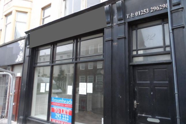 Thumbnail Retail premises for sale in Talbot Road, Blackpool