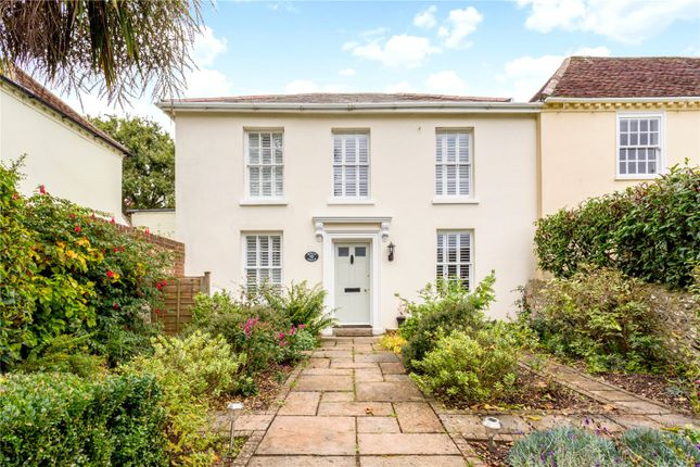 Thumbnail Semi-detached house for sale in Down Street, West Ashling, Chichester, West Sussex