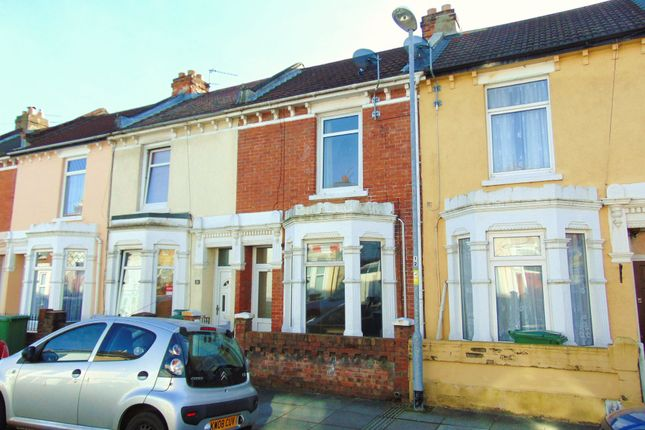Thumbnail Terraced house to rent in Essex Road, Southsea