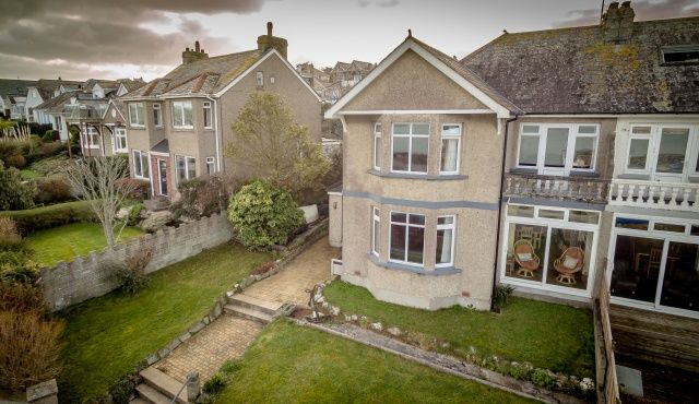Thumbnail Semi-detached house for sale in Treverbyn Road, Padstow