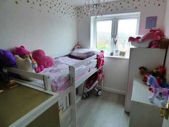 Bedroom Three of Clough Field Close, Whaley Bridge, High Peak, Derbyshire SK23