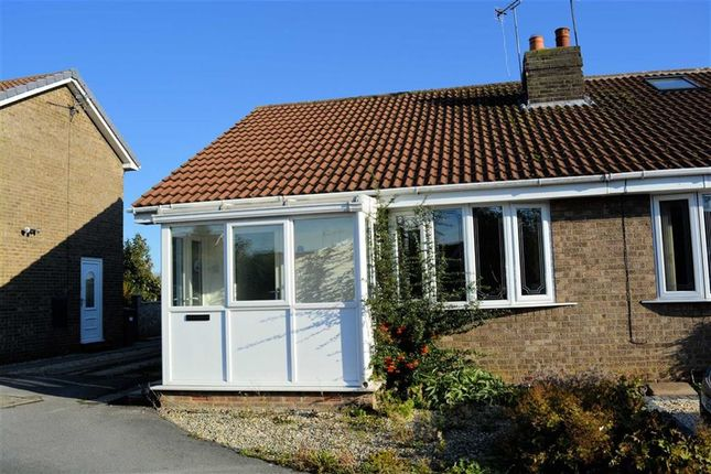Thumbnail Semi-detached bungalow for sale in St Mary's Avenue, Hemingbrough