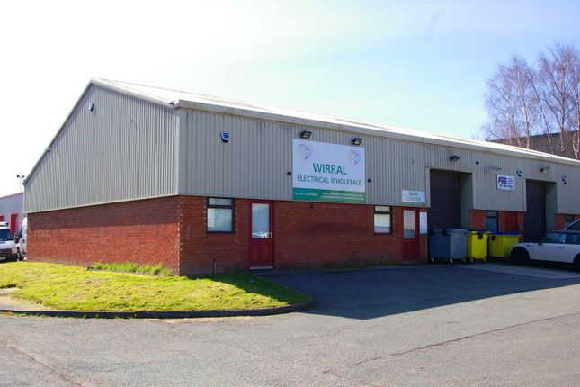 Thumbnail Light industrial to let in Badger Way, North Cheshire Trading Estate, Prenton