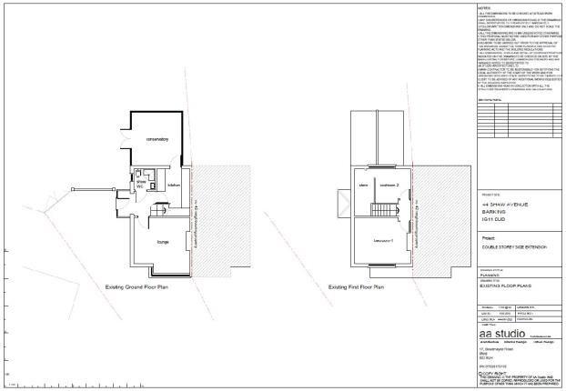 Title Plan 2 of Shaw Avenue, Barking IG11