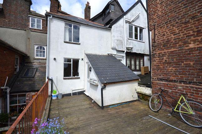 Thumbnail Maisonette to rent in Fore Street, Exeter
