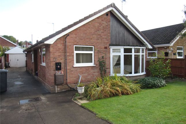 Thumbnail Detached bungalow for sale in The Spinney, Shirebrook, Nottinghamshire