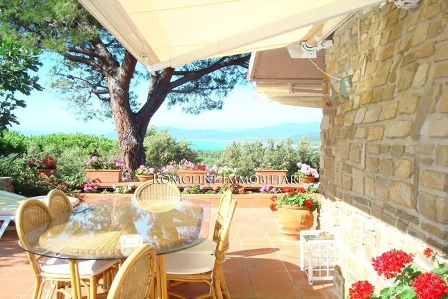 Villa With Dependance Seaview For Sale In Punta Ala