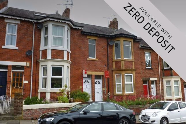 Thumbnail Flat to rent in Audley Road, Gosforth, Newcastle Upon Tyne