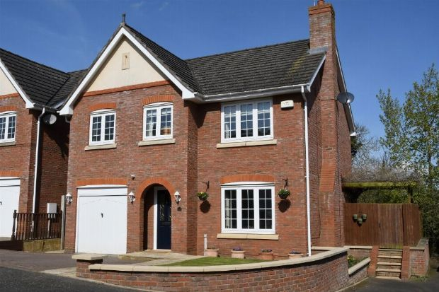 Thumbnail Detached house for sale in St Marys Way, Weedon, Northampton