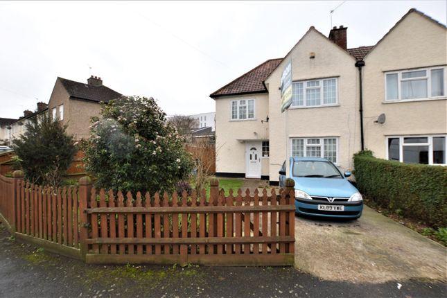 Thumbnail Semi-detached house for sale in Denning Avenue, Croydon