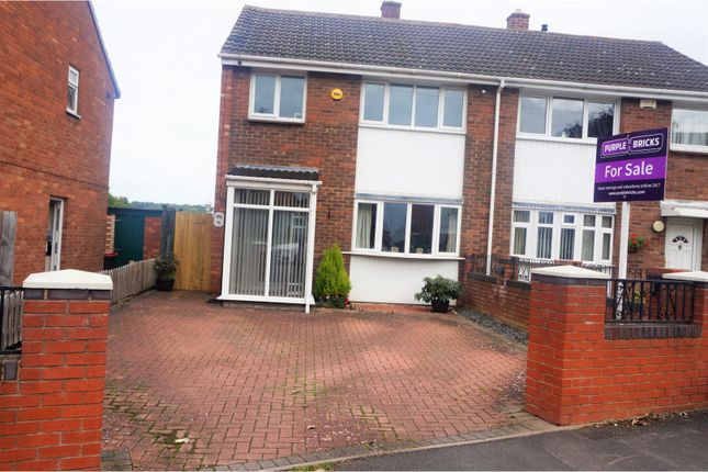 Thumbnail Semi-detached house for sale in Hills Lane Drive, Madeley Telford
